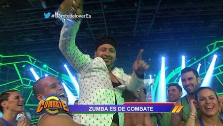 Combate: Zumba regresó al reality tras atacar a exconductores
