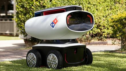 Robots repartidores de pizza estarán a prueba en Nueva Zelanda