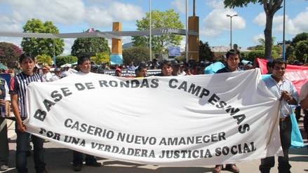 Moyobamba: convocan paro de 48 horas por abandono de obras en carretera
