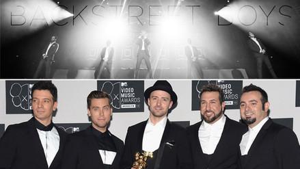 Backstreet Boys y ´Nsync alistan película