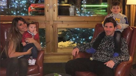 Instagram: Lionel Messi recibió este mensaje de su pareja por el Día del Padre