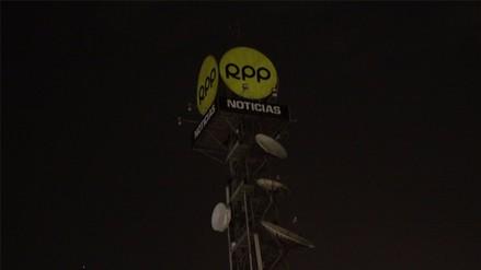 La antena de RPP se apagó durante la Hora del Planeta