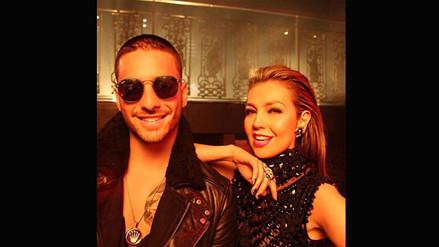 ¡Thalía y Maluma finalmente estrenaron videoclip!