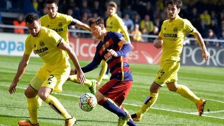 Barcelona se dejó empatar por el Villareal pero sigue firme en la punta de la Liga BBVA