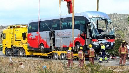 España: peruano iba en bus en que fallecieron 13 estudiantes tras accidente
