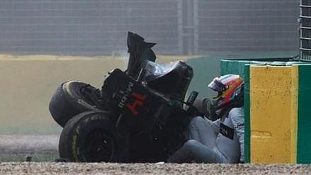 GP de Australia: Fernando Alonso salvó de morir de brutal accidente (VIDEO)