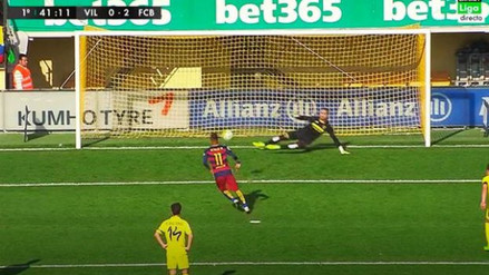 Barcelona vs. Villarreal: Neymar marcó de penal y al estilo Panenka