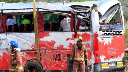 España: fallecidos en autobús son 7 italianas y 6 de otros países