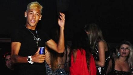 YouTube: Neymar se fue de fiesta tras el empate de Barcelona con Villarreal