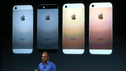iPhone SE, el celular más pequeño y barato de Apple
