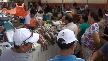 Chiclayo: empiezan a subir en 10 % precio de pescados por Semana Santa