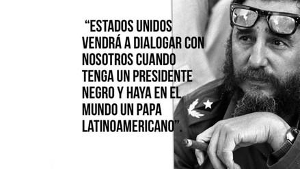 Conoce la historia sobre la 'profética' frase de Fidel Castro que resultó falsa
