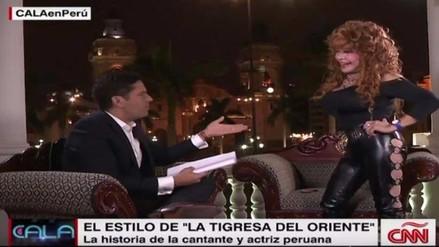 Tigresa del Oriente fue entrevistada por Ismael Cala en CNN
