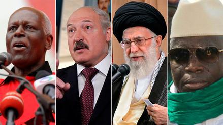 ¿Quiénes son los dictadores que más tiempo llevan en el poder?