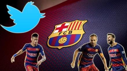 Barcelona: Neymar y los jugadores con más seguidores en Twitter