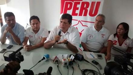 Alan García señala que JNE ya no debería pretender excluir a más candidatos
