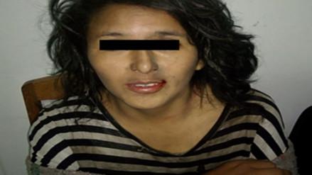 Mujer acusada de robo agravado fue rescatada por policías en Huasao