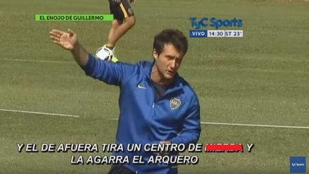 YouTube: Guillermo Barros Schelotto explotó con el plantel de Boca Juniors