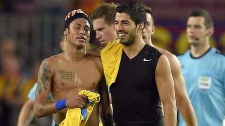 Brasil vs. Uruguay: ¿Qué le apostó Luis Suárez a Neymar?