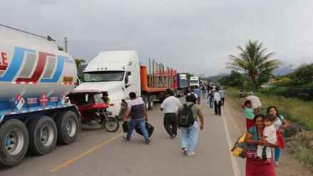 Moyobamba: pobladores de Soritor levantan su medida de protesta
