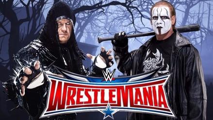 WWE: la verdad sobre la pelea entre The Undertaker y Sting en WrestleMania