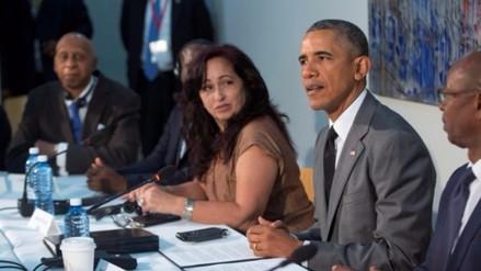 Cuba: Obama se reunió con disidentes y recibió lista de presos políticos