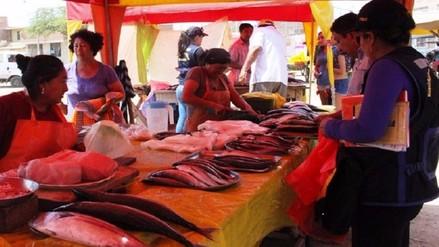 Decomisan 17 kilos de pescado y mariscos no aptos para el consumo