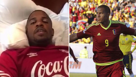 Jefferson Farfán promete darle harto 'chocolate' a Venezuela (VIDEO)
