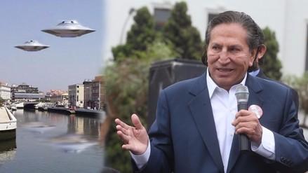 Alejandro Toledo contó que habló con CNN sobre extraterrestres