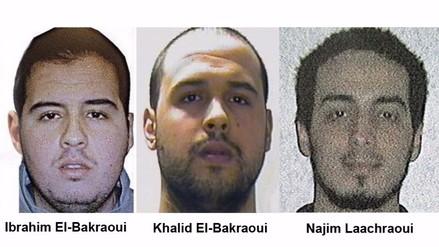 Identificados los tres kamikazes del atentado de Bruselas