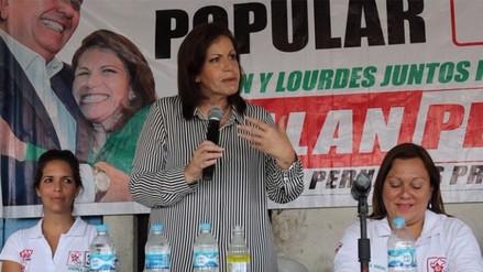Lourdes Flores emplaza a Mendoza y Barnechea a esclarecer denuncias