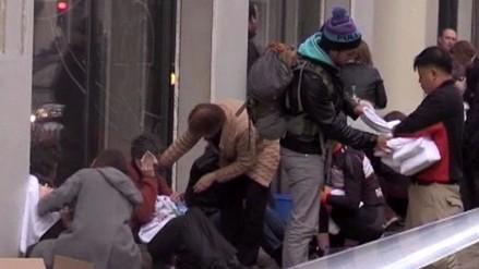Así actuaron los heridos segundos después del atentado en Bruselas