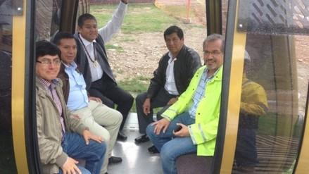 Vice gobernador regional visitó avances del futuro teleférico de Kuélap