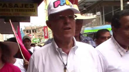 Barranca: Pedro Pablo Kuczynski se defendió de acusaciones