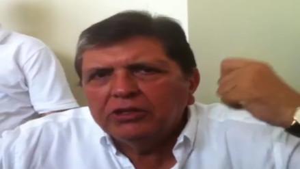 Iquitos: Alan García niega entrega de dádivas en playa Agua Dulce