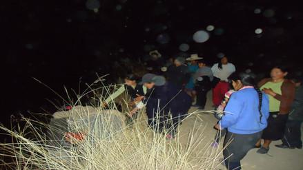 Un muerto y tres heridos en vuelco de bus en vía Celendín - Balsas