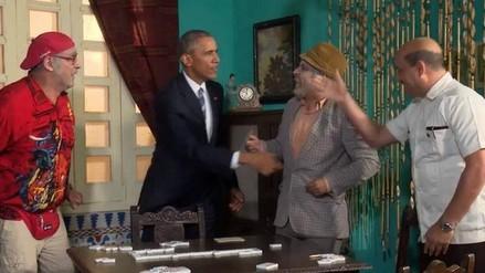 Video: Pánfilo le enseñó a Barack Obama a jugar dominó