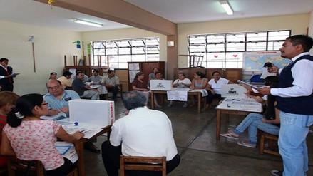 Lambayeque: más de 8 mil miembros de mesa serán capacitados este domingo