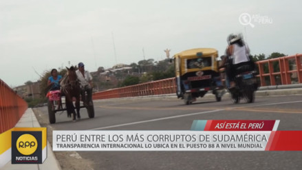 Así está el Perú 2016: La corrupción afecta a los más pobres