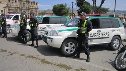 PNP intensificará operativos en carreteras por seguridad de viajeros