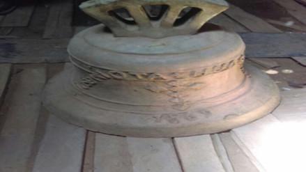 Intervienen campana del siglo XVII valorizada en 700 mil soles