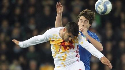 Italia y España igualaron 1-1 en amistoso internacional previo a la Eurocopa