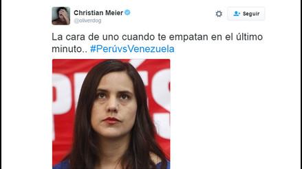 Twitter: personajes de la farándula comentan el empate de Perú ante Venezuela