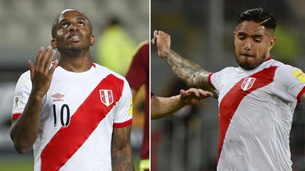 Selección Peruana: Jefferson Farfán y Juan Vargas no viajarán a Uruguay