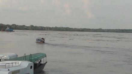 Iquitos: reportan un desaparecido tras choque de dos embarcaciones