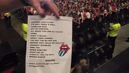 The Rolling Stones: este fue el setlist en Cuba