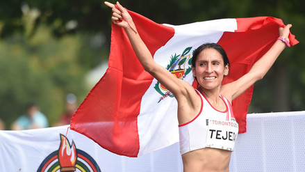 Gladys Tejeda volvió a competir tras el dopaje y batió un nuevo record