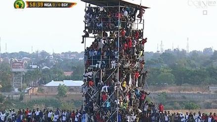 Twitter: hinchas nigerianos hicieron de todo para ver a su selección