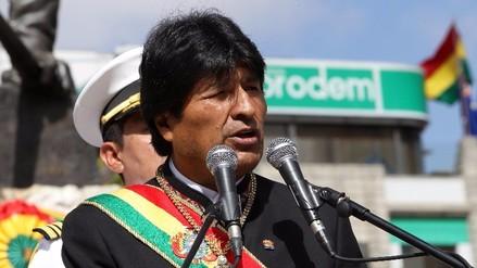 Evo Morales demandará a Chile ante La Haya por el Silala