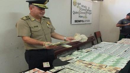 Decomisan cerca de un millón de billetes falsos